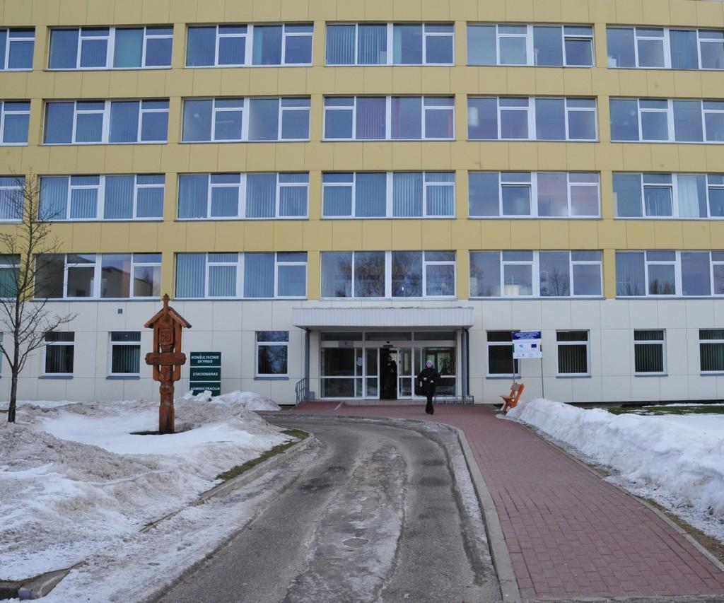 Plungės ligoninė (A. Kubaičio nuotr.)