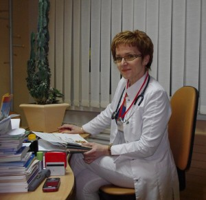 Šeimos gydytoja Birutė Jankuvienė (G. Jankutės nuotr.)