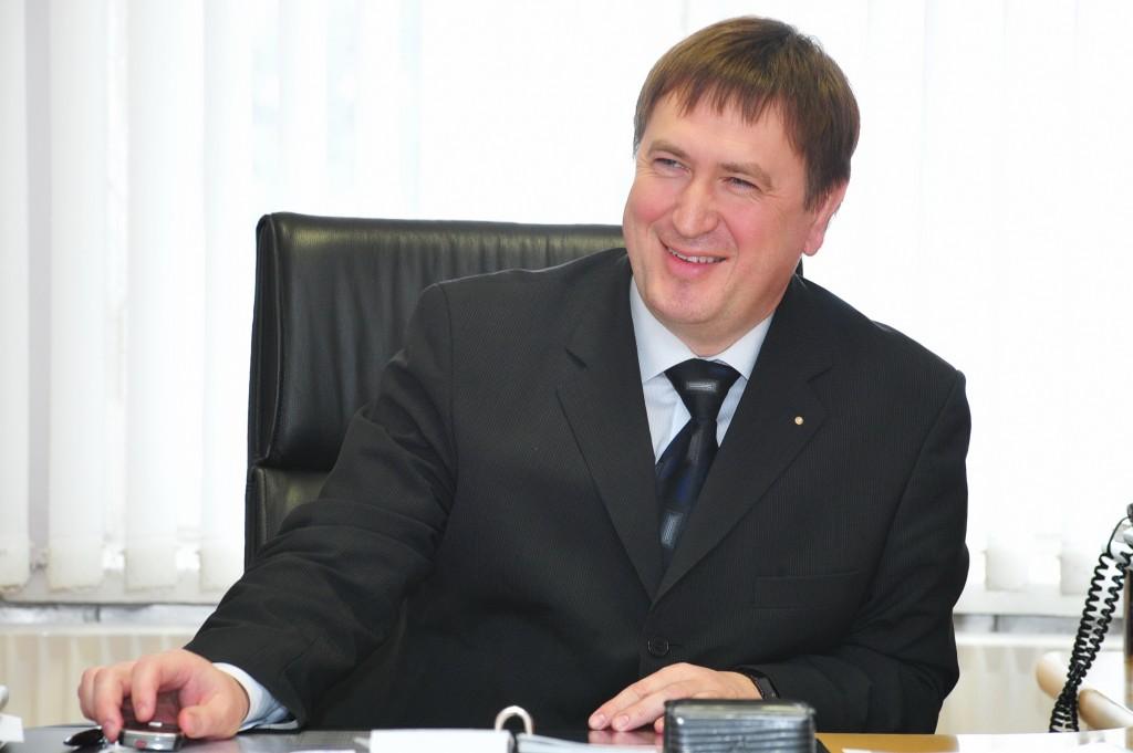 Vyriausiasis gydytojas Darius Steponkus tikisi, kad metų gale mums parodys renovuotą ligoninę (A. Kubaičio nuotr.)