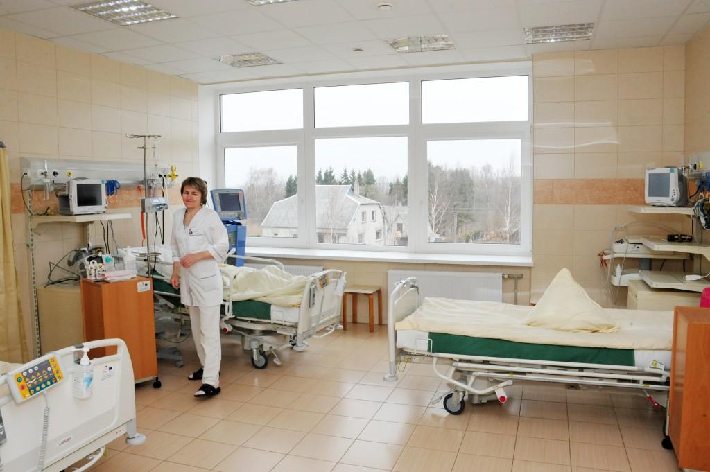 Slaugytoja reanimacijos palatoje