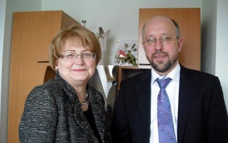 Alma Vitkienė ir dr. Audrius Šimaitis