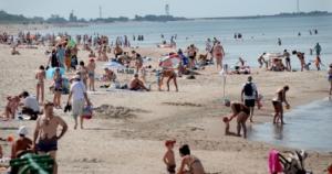 Saulėtas paplūdimys
