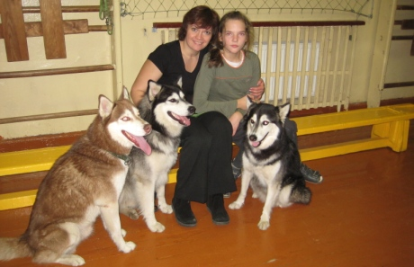 Raminta Daščiorienė su dukra
