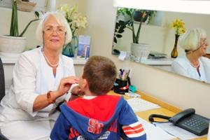 Tikrinama vaiko sveikata