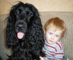 Šuo su vaiku
