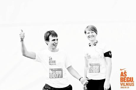Arminas Vilniaus maratone