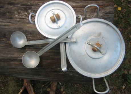 Aliuminio puodai