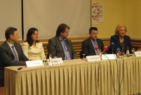 Gripo forumo spaudos konferencija