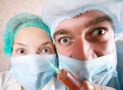 gydytojų baimė