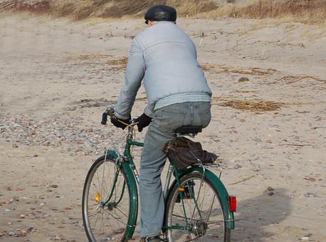 važiavimas dviračiu