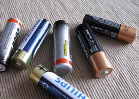 Baterijos