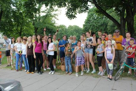 Bėgimas už blaivią ir sveiką Lietuvą Biržuose