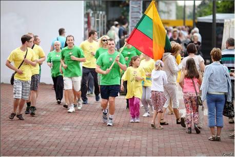 Bėgimas už blaivią ir sveiką Lietuvą Šiauliuose