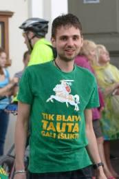 Arminas organizuoja bėgimus už blaivią ir sveiką Lietuvą