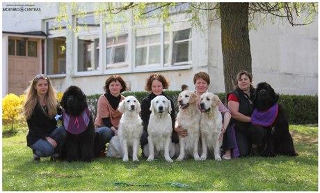 Kinologų draugijos komanda