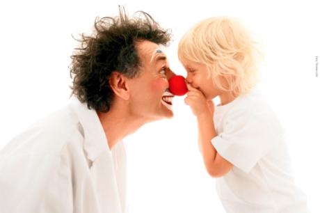 Klounas ir vaikas