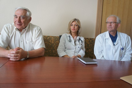 Respublikinės Šiaulių ligoninės medikai