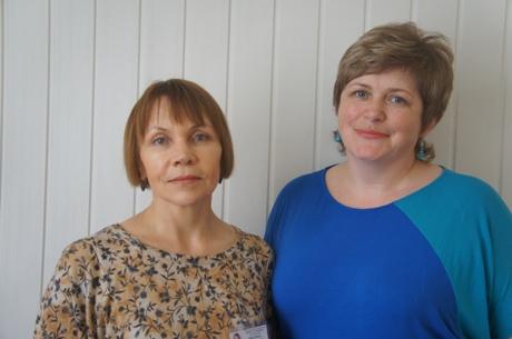 Viktorija Vaišvilaitė ir Loreta Dieliautienė