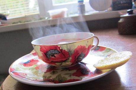 Arbata puodelyje