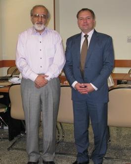 Narimantas Evaldas Samalavičiaus ir Reza Malekzadeh