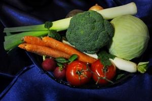 Įvairios daržovės