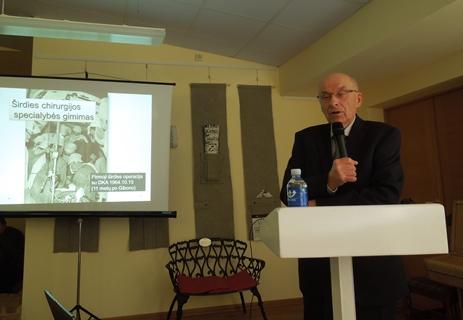 Prof. Vytautas Sirvydis