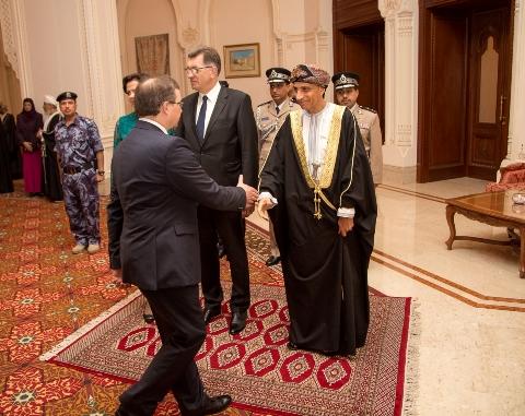 Vizitas Omano Sultonate