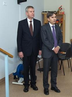 Vytautas Valaitis ir Norvegijos ambasadorius