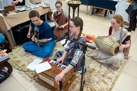 Indiškos muzikos garsai