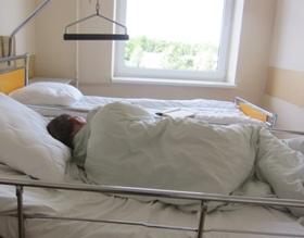 Pacientas ligoninėje