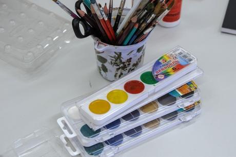 Akvarelė