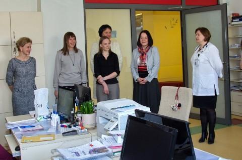 Latvijos hematologės Vaikų ligų klinikoje