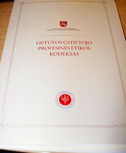 Lietuvos gydytojų profesinės etikos kodeksas