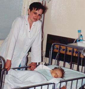 Sigutė Makutunovič su pacientu