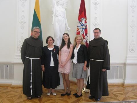 A. Kerpytė prezidentūroje