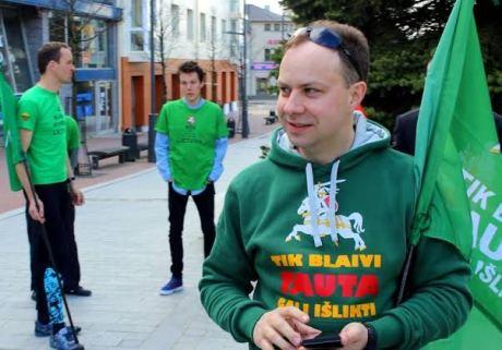 Aurelijus Veryga bėgime už blaivią ir sveiką Lietuvą