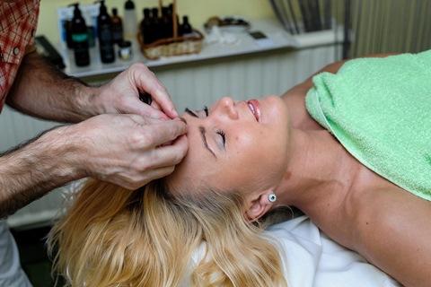 Veido masažas