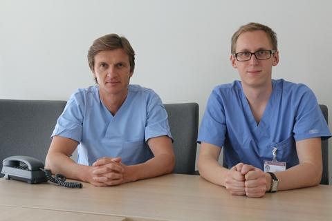 Mindaugas Šerpytis (kairėje) ir Šarūnas Judickas