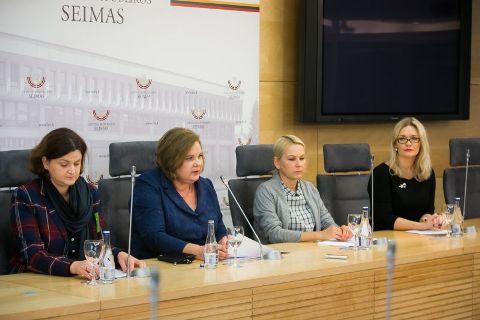 Ieva Drėgvienė, Vilija Filipovičienė, Eglė Mėlinauskienė ir Odeta Turčinskaitė-Šiušienė.