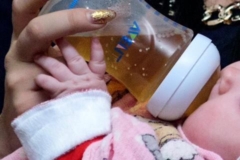 Kūdikis geria