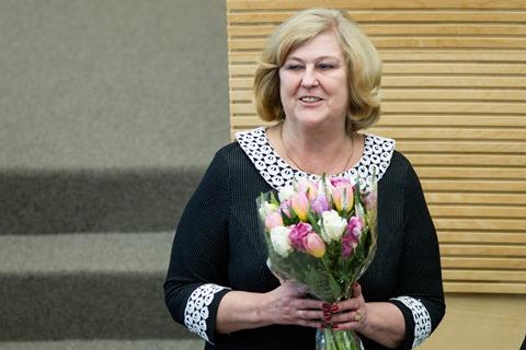 Ministrė R. Šalaševičiūtė