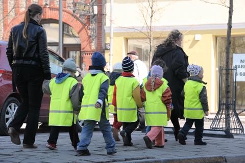 Vaikai gatvėje