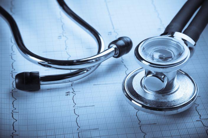 Kardiograma, stetoskopas