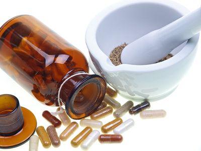 Buteliukas su vitaminais