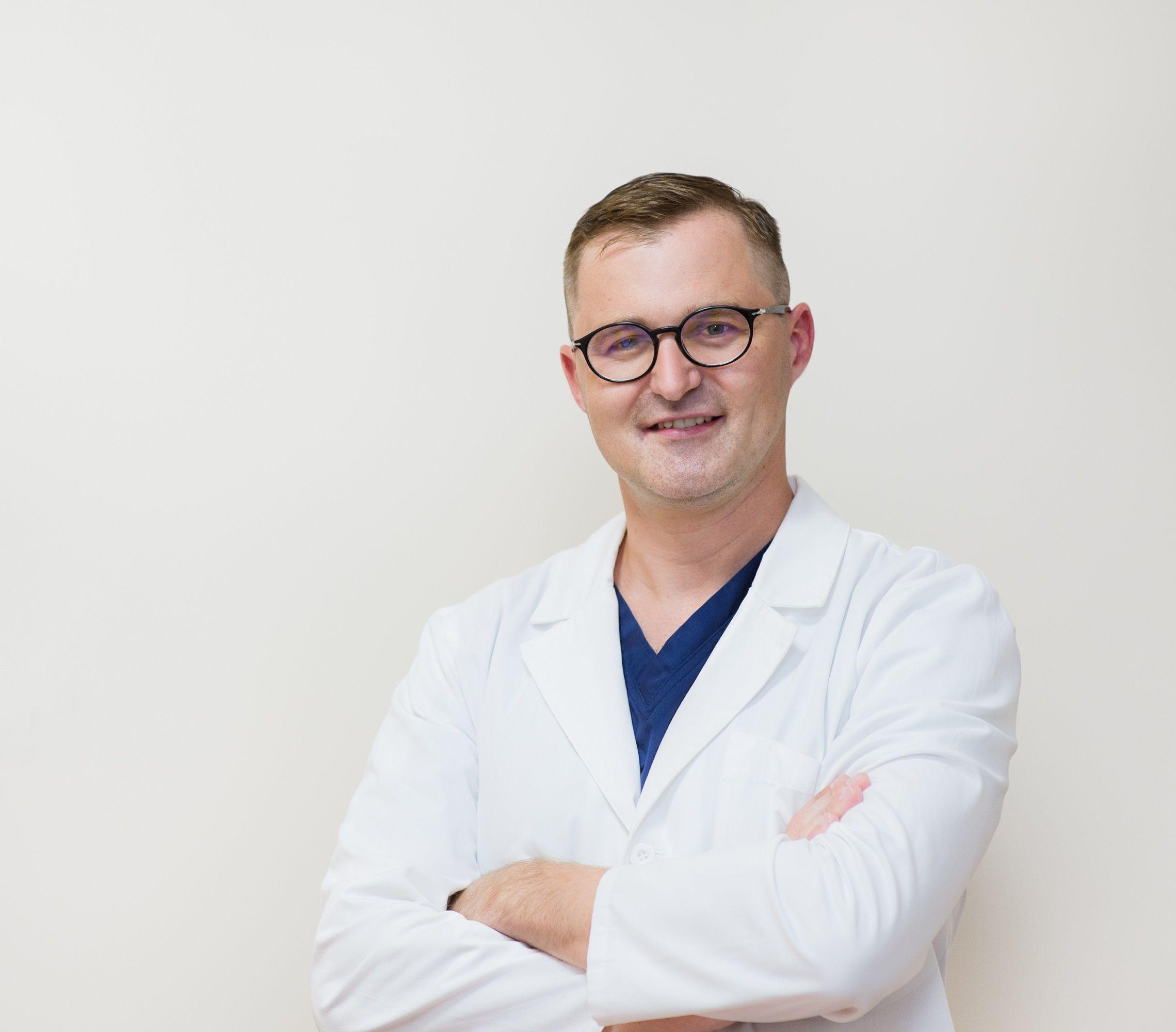 Gydytojo Tomo Lūžos nuotrauka