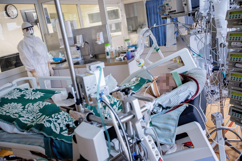 LIgonis guli reanimacijos palatoje