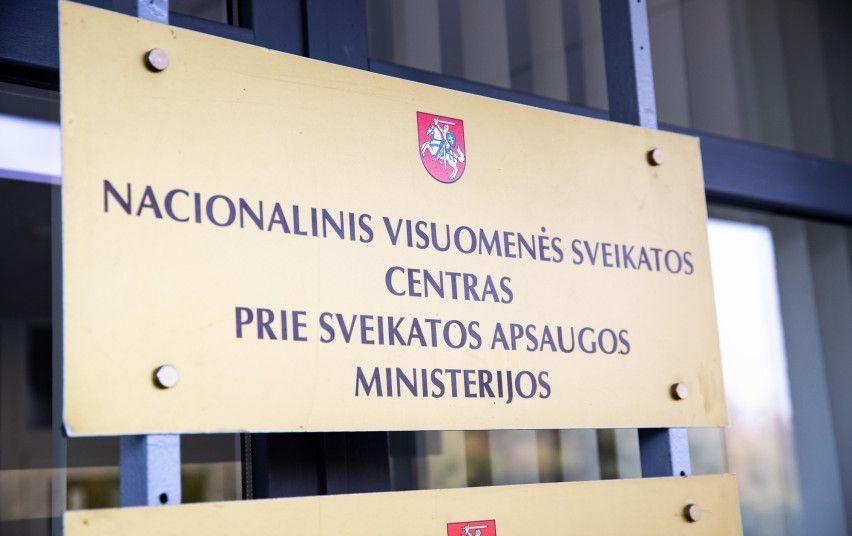 Nacionalinio visuomenės sveikatos centro iškaba
