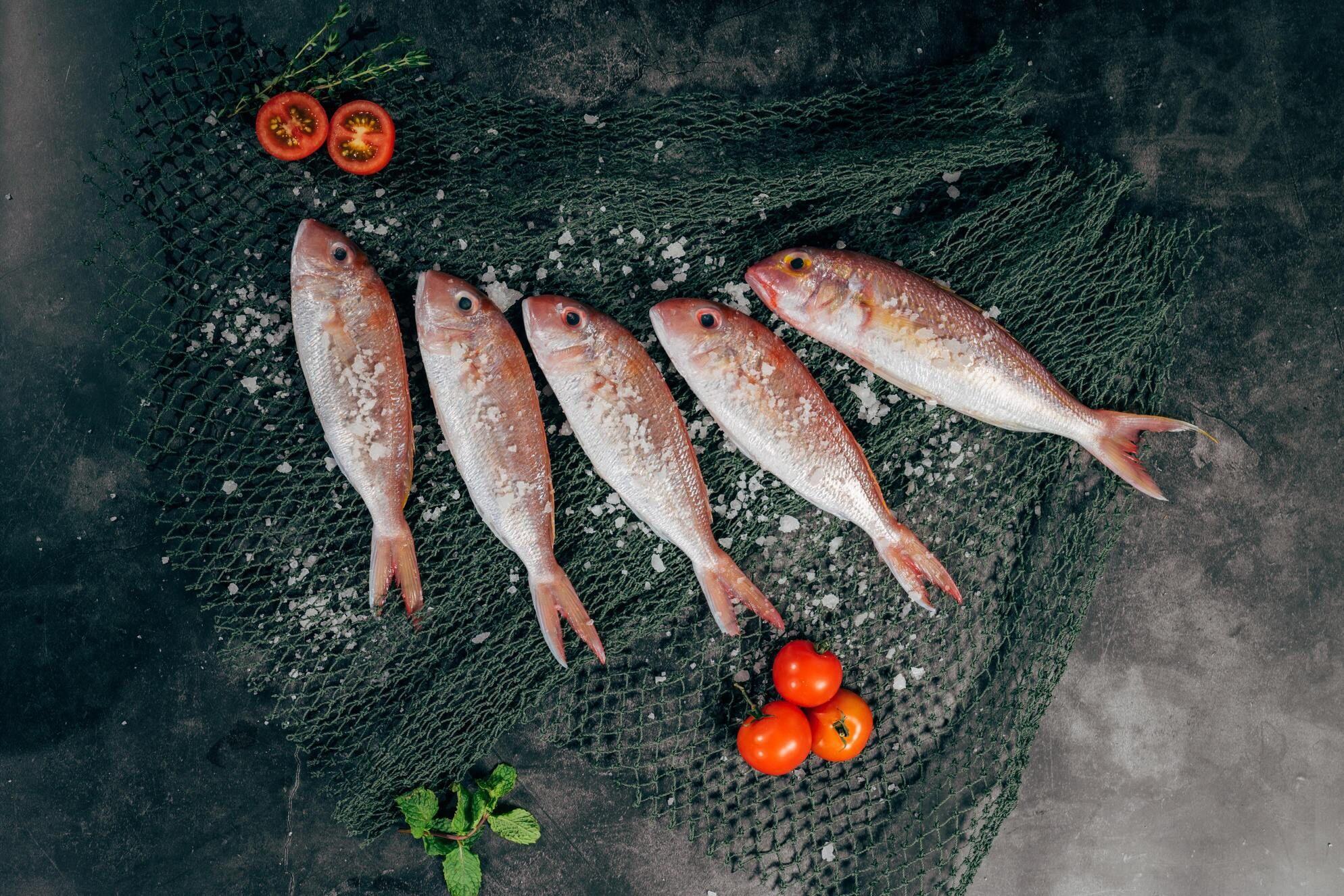 Penkios žuvys