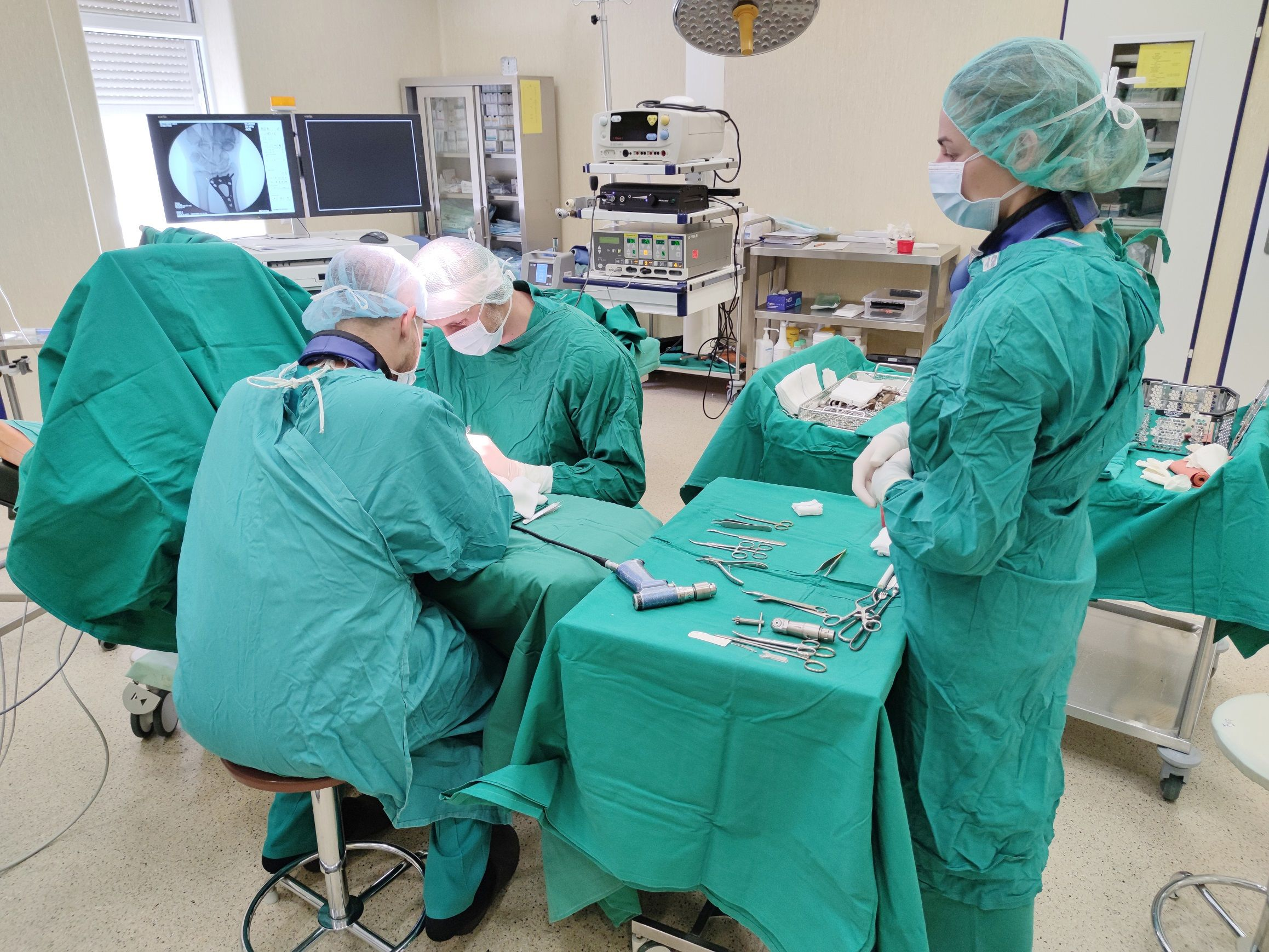 Chirurgas operacinėje