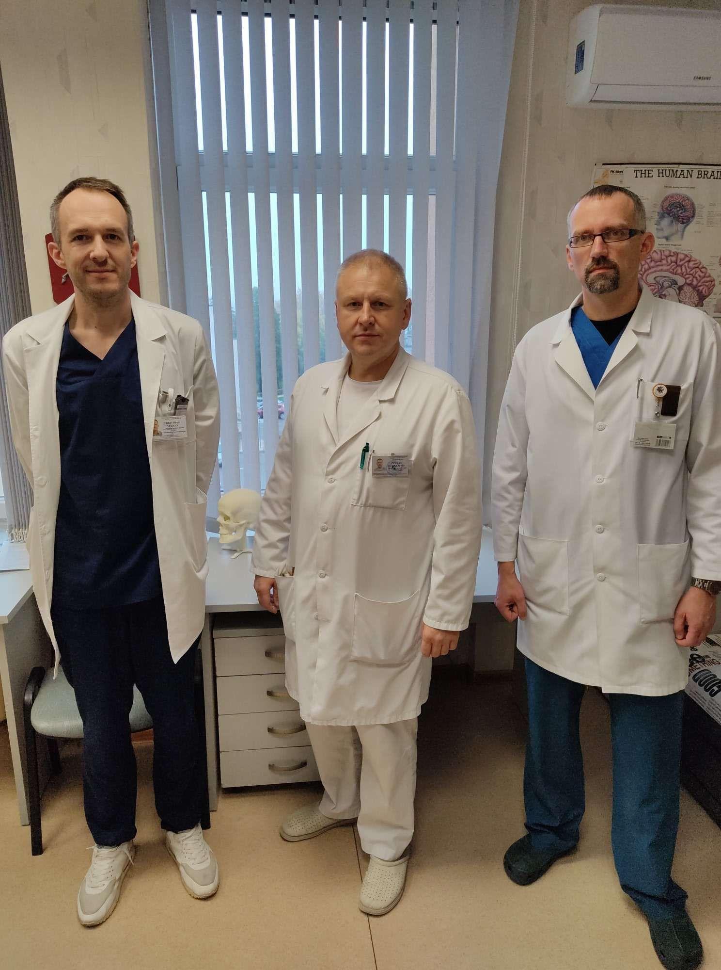 Deividas Stukas, Petras Dženkaitis, Gintaras Golubovas